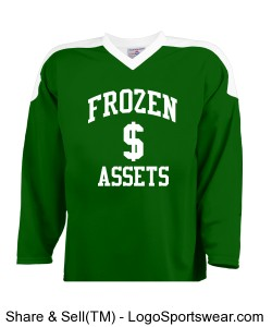 House League Adult Hockey Uniform Jersey Design Zoom