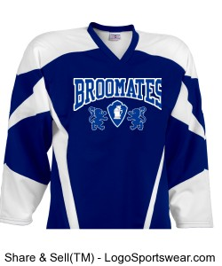 Air Mesh Deluxe Adult Hockey Uniform Jersey Design Zoom